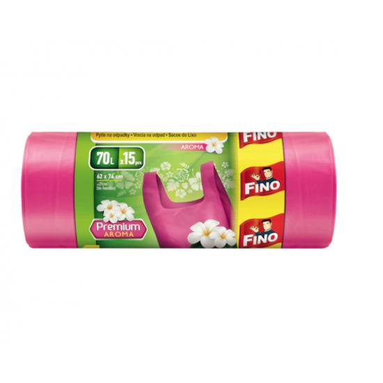 Fino Saci Gunoi HD 70 L Color 15 buc