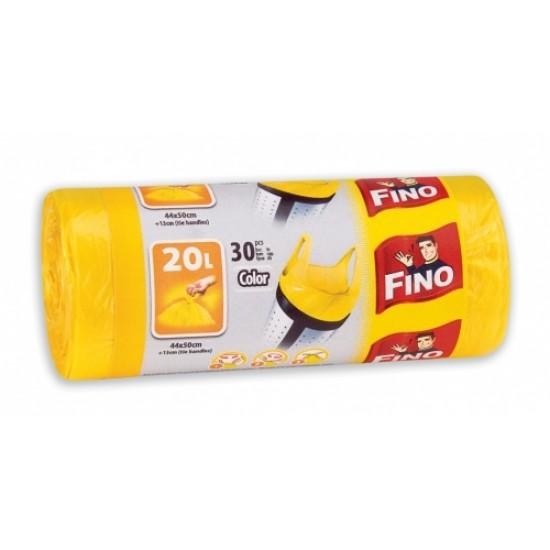 Fino Saci Gunoi HD 20 L Colorati