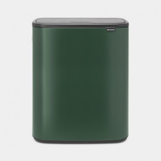 Cos gunoi Bo Touch, 2 x 30L - Verde Pin