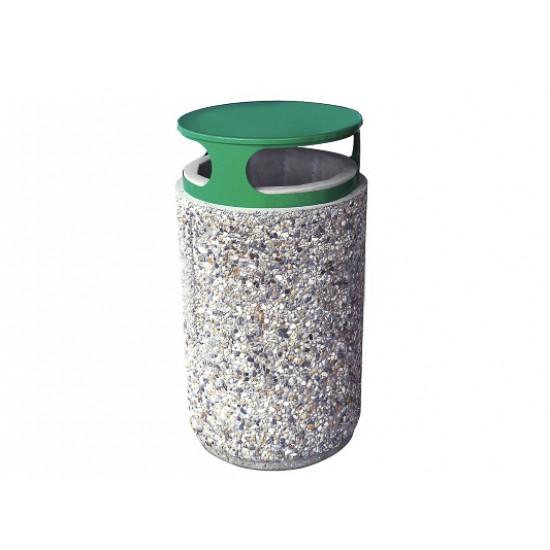 Cos de gunoi beton, MEVATEC, 220 kg