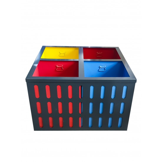 Cos colectare selectiva 4x60L
