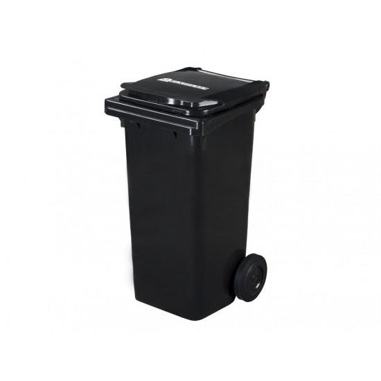 Pubela HDPE CLD 120L negru