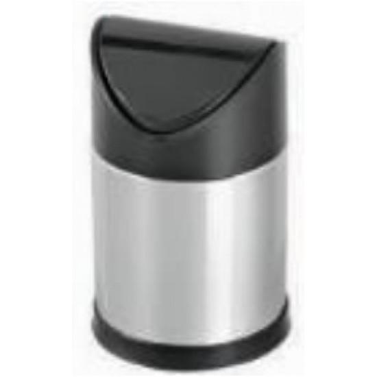 Cos gunoi pentru masa din otel inoxidabil 1,25 L