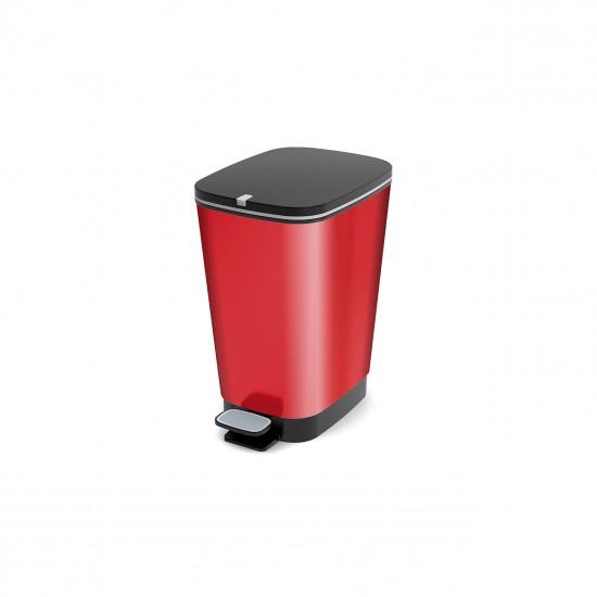 Cos gunoi, Chic M rosu metalizat, 22.3 litrii
