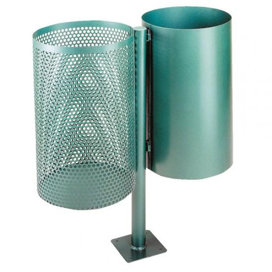 Cos dublu - verde MEVATEC, 2 x 30L