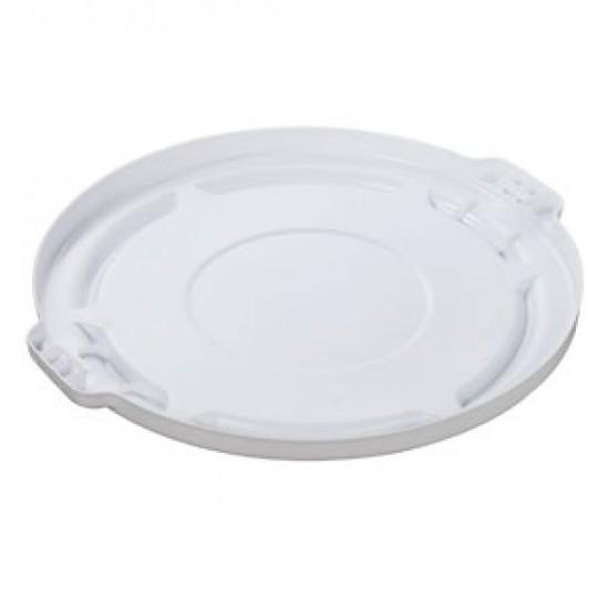 Capac pentru container rotund Brute, 75.7 L, alb, RUBBERMAID