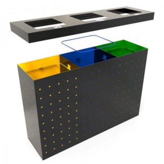OSLO RM Set modern de reciclare cu mai multe compartimente