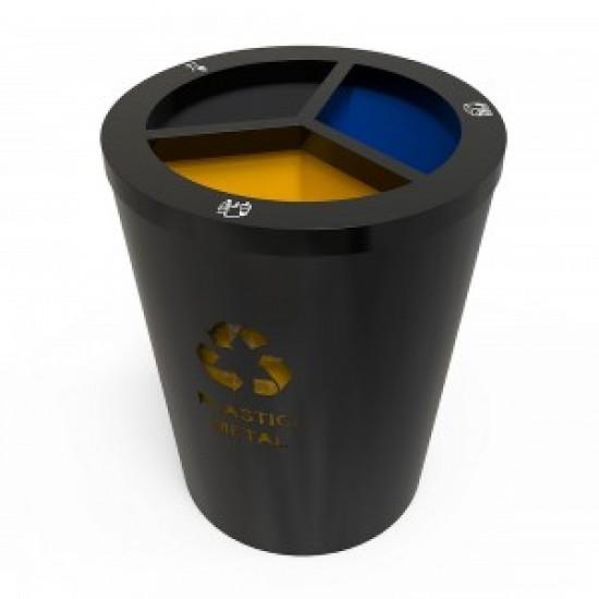 GENEVE M Set de reciclare moderna cu 3 compartimente