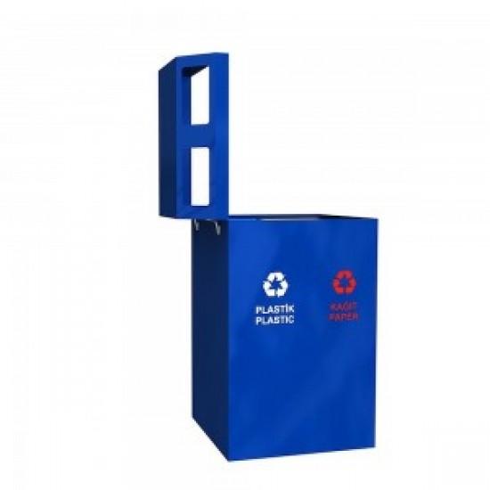 STAVANGER Cos solid pentru colectare selectiva a deseurilor pentru spatiile publice 4x35L