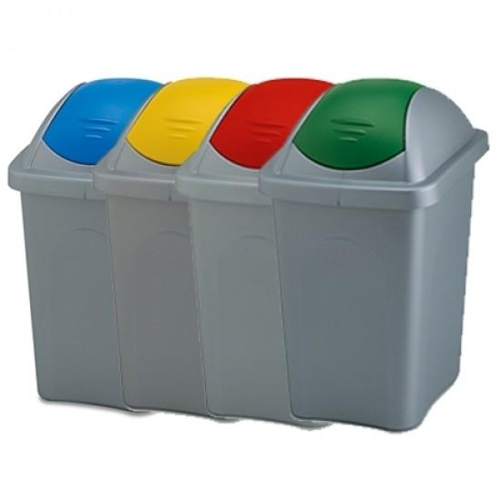 Cos gunoi Multipat colectare selectiva - 60 litri