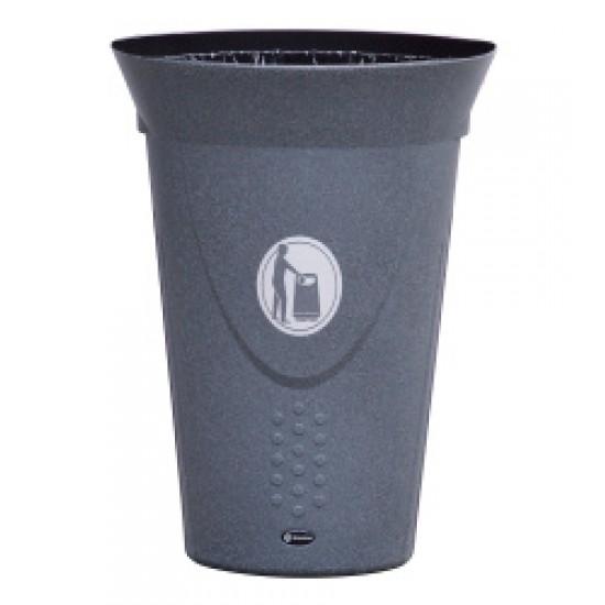 Cos de gunoi fara capac LUNA 60 L MEVATEC