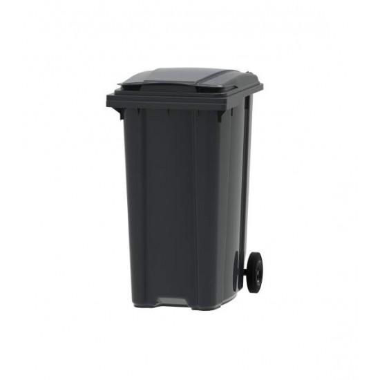 Container din plastic, 360 litri negru