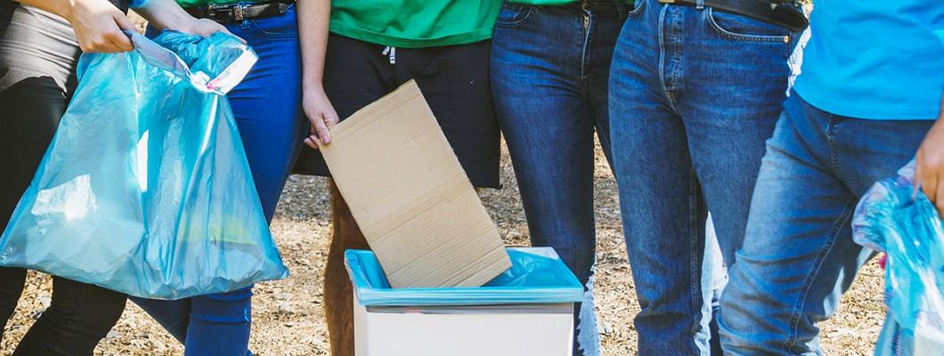 Coșuri de gunoi pentru reciclarea eficientă a deșeurilor