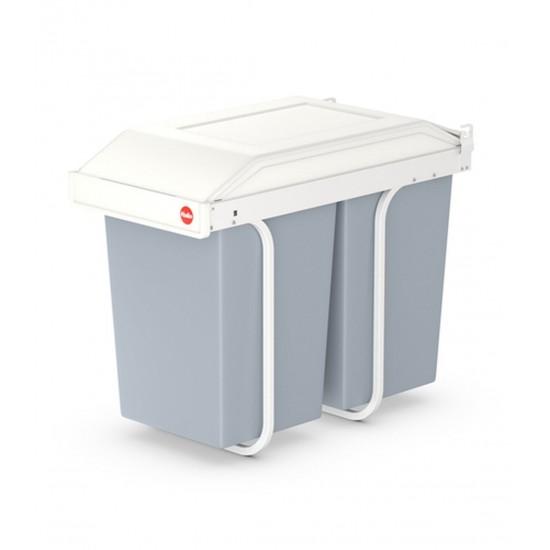 Cos Gunoi Hailo Multi Box Duo L, 2x14L