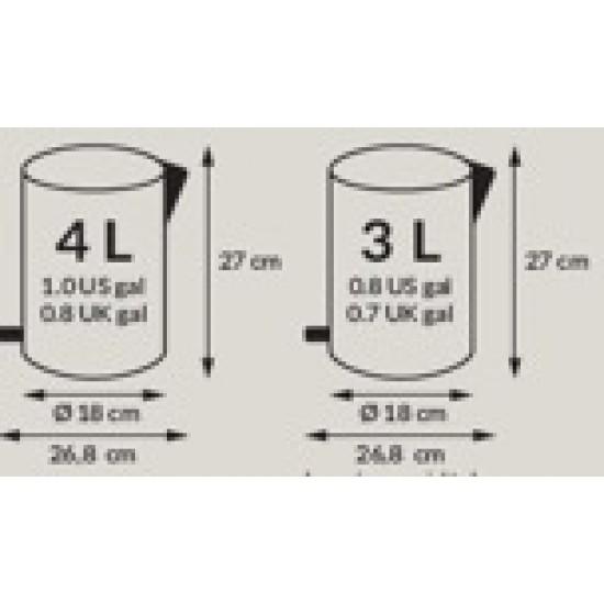 Cos Gunoi Solid S, 3-4L